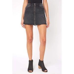 Free people denim skirt Size 27